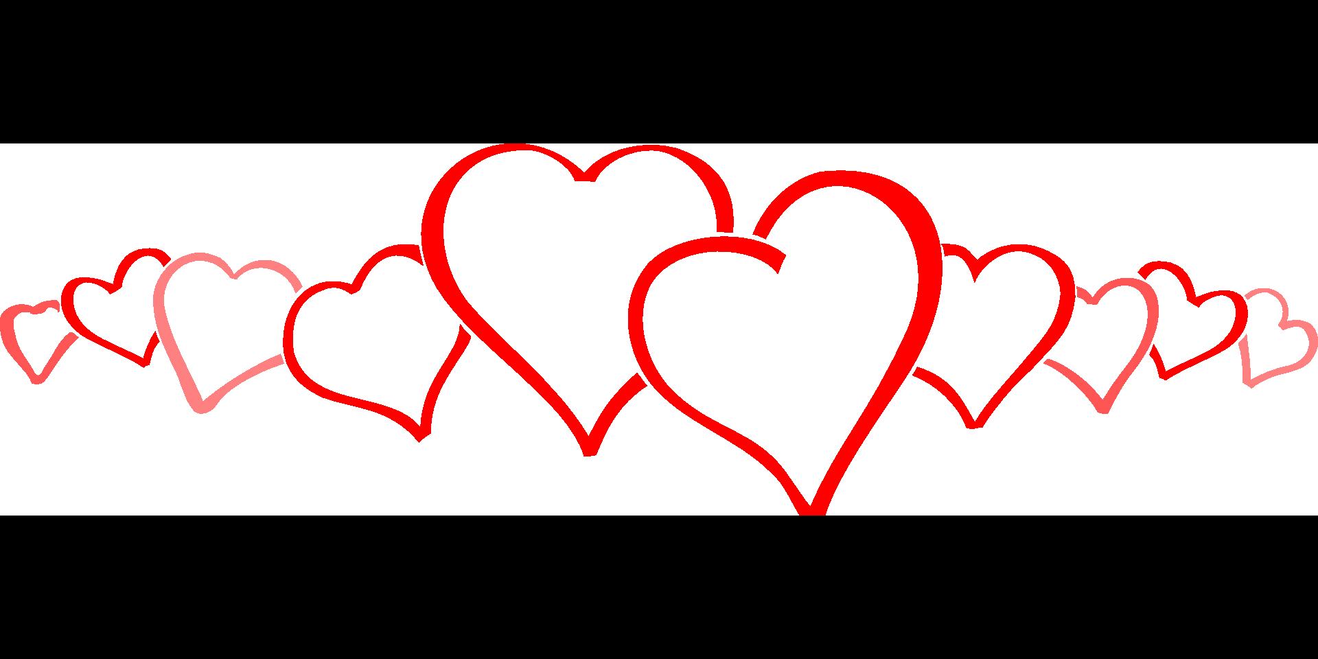 Liebesherzen Grafik