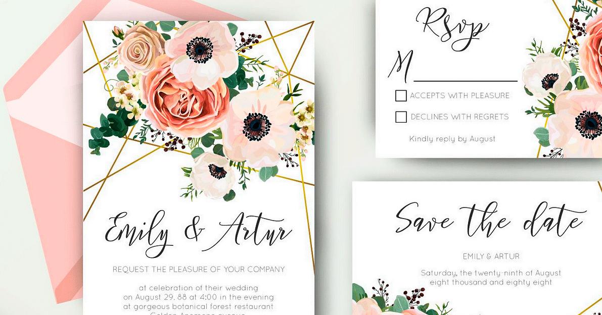 Vorlagen für Hochzeitskarten und ähnliches