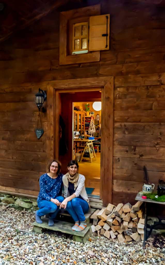 Nora (links) und Regina